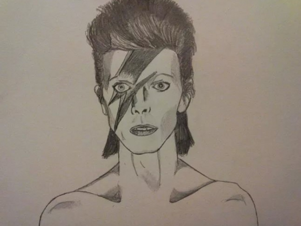 David Bowie por Sweetsauce